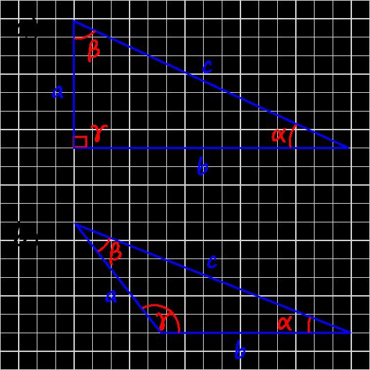 Winkeln im Dreieck